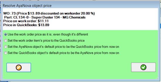Set Price Differences Easily Synchronize Between Your Work Order Program And Accounting